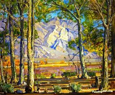A Vista by William Wendt Hand-painted and Prints Art Painting for sale,you can custom the size and frame