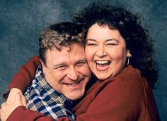 best tv couples of all time   Best TV Couples of All Time Pictures - Dan and Roseanne Conner ...