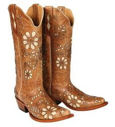 premium Soft Leather Lining Cowgirl Ladies Boot Traditional leather sole Medium B(M) 6.5
