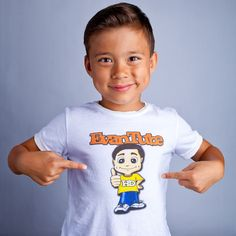 """Keanu wants this teeshirt for his 5th bday of his fav youtuber """"toy demo professional""""-  kid prodigy , #EvanTubeHD"""