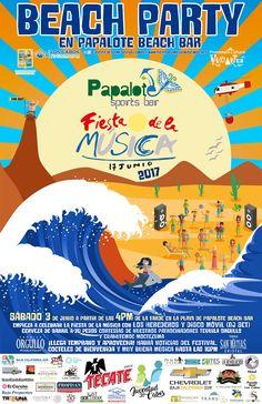 Beach Party pre-Fiesta de la Musica 2017, 03-jun, Mama Mia y Papalote Beach Club, San Jose del Cabo