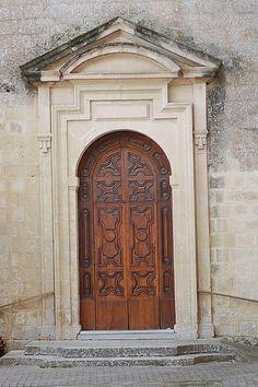 Door in Mdina, Malta