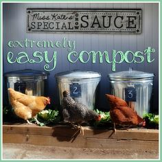 Composting for beginners. Also, see the book Vertical Vegetable Gardening by Chris McLaughlin for composting advice. It's in the VB library.