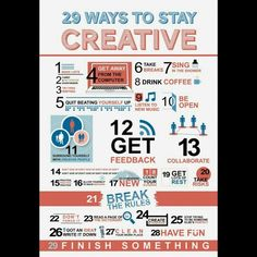 Need inspiration to get back into work? Here's a great infographic that will inspire you to pump up your creativity!  ***************************************** Kevin Bethea – Corporate Magician & Illusionist www.ktbmagic.com For Booking Availability, Call (856) 728-8733  #kevinbethea #magician #illusionist #NewJersey #corporatemagiciannewjersey #worldclassmagician #corporateillusionist #tradeshows #stagemagic #strollingmagic #kevinbetheamagic #newjerseymagician #newyorkcity #Philadelphia…