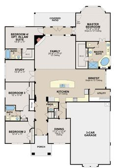 Ryland homes chesapeake model House plans and ideas Pinterest