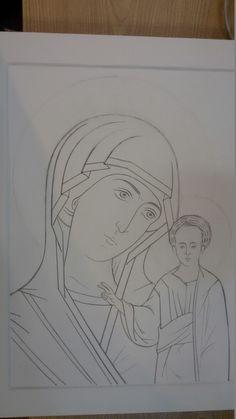 Frescele lui Alexandru Soldatov (Partea a Drawing Cartoon Characters, Character Drawing, Cartoon Drawings, Pencil Drawings, Space Drawings, Realistic Drawings, Create Drawing, Drawing Practice, Byzantine Icons