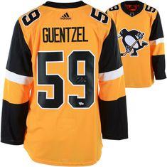 c3135a956 Autographed Jake Guentzel Penguins Jersey Fanatics Authentic COA  Item#9246854 Jake Guentzel, Nhl,