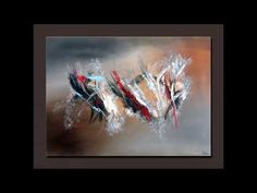 Abstract Painting Techniques - Démonstration peinture abstraite (5) - Althea - YouTube