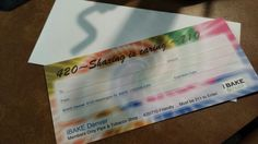 Gift Certificates now available for iBake Denver :)
