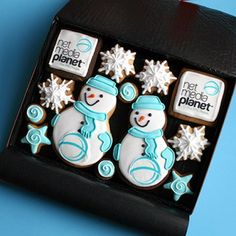 Net Media Planet Christmas Tree Decorations, Peeps, Biscuits, Snow, Cakes, Projects, Xmas, Royal Icing, Crack Crackers