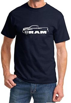 2010-15 Dodge Ram Pickup Truck Classic Outline Design Tshirt 3XL navy. PLEASE BEWARE. Shirt and Car Art are EXCLUSIVE property of MADDMAX Car Art. Our shirt prices start at $20.00. If you see a lower price and do not see sold and shipped from Maddmax Illustration and Car Art above, it is a counterfeit and cheap overseas imitation. Heavy Weight 100% Preshrunk Cotton. Unisex Sizing. Machine Washable. Officially Licensed FCA US LLC product.
