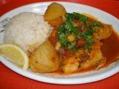 Peruvian Steamed Fish, Poached Fish, Pescado Sudado