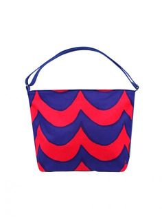 Osma bag (purple, rasberry) | Bags & Accessories, Bags, Shoulder Bags & Backpacks | Marimekko