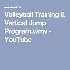 916deabda Volleyball Training   Vertical Jump Program.wmv
