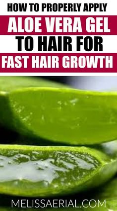 How to use aloe vera gel for hair growth. Ever wondered how to properly mix aloe vera to apply it to your hair for hair growth. What you don't know may hurt you. Learn proper researched techniques on how to use this all natural product for fast hair growth.