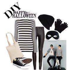 DIY Halloween burglar costume..