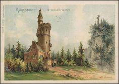 Karlovy Vary - Goethova rozhledna