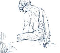 91 days Days Anime, Eren Y Levi, 91 Days, Art Series, Anime Sketch, Haikyuu Anime, Manga, Me Me Me Anime, Anime Art