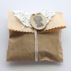 Silhouette.. cute gift wrap