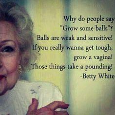 Oh Betty White!