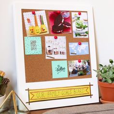 Vision Board Your Way // #visionboard #diy #crafty #Nifty