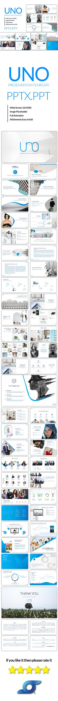 Uno Powerpoint Template