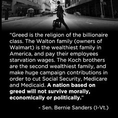 Proverbs 29:7 - Examples: Righteous man,   Bernie Sanders    A righteous man knows the rights of the poor; a wicked man does not understand such knowledge. ( The wicked: Donald Trump, Paul Ryan, Mitch McConnell, The Koch brothers,  The Walton ) #Greed #WorkingFamilies #Sanders2020 #Bernie2020 #NotMeUs #BernieSanders  #PowerToThePolls #TimesUp #MedicareForAll #Equality #EndPovertyWages #RaiseTheWage #The98percent #Truth
