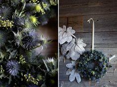 amazing thistle wreath - holidays, weddings, decor.