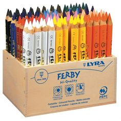 Packlinq Super Ferby 1 colouring pencils, L: 12 cm, lead: mm, asstd colours, School Supplies, Art Supplies, Marker, Barbie Drawing, Wooden Pencils, Bullet Journal Mood, Coloured Pencils, Abstract Canvas Art, Too Cool For School
