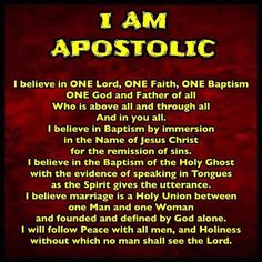 Have you been baptised in Jesus Name according to the Book of Acts??