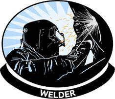 Mechanic For Men Welding Logo, Welding Caps, Welded Metal Projects, Welding Projects, Welder Tattoo, Metal Sheet Design, Welding Works, Welder Shirts, Bull Tattoos