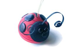 Red Ladybug Quilling - bjl