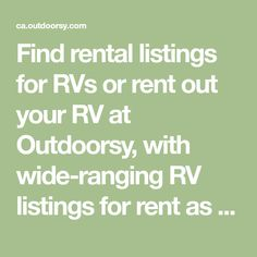 Find rental listings for RVs or rent out your RV at Outdoorsy, with wide-ranging RV listings for rent as well city guides for your next memorable journey. Volkswagen Westfalia, Rent Rv, Camper Rental, Why Book, Best Insurance, Rental Listings, Rv Dealers, Campervan, Peace Of Mind