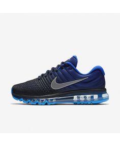569d56fd39b Nike Air Max 2017 Dark Obsidian Deep Royal Blue Racer Blue White 849559-400  Running