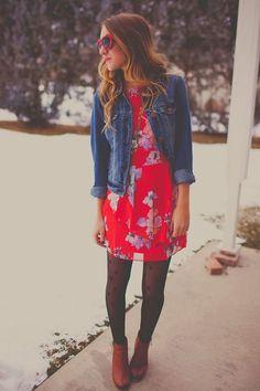 wie man Winterstrumpfhosen 20+ beste Outfits trägt