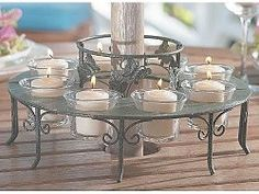 Attirant Tealight Candle Holder Around Umbrella   Google Search