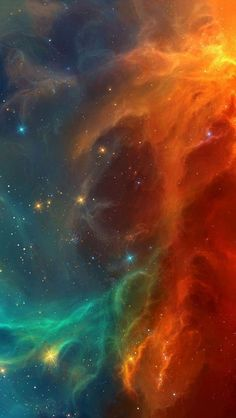 Red-Galaxy-Nebula-iPhone-Wallpaper - IPhone Wallpapers