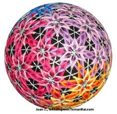 Temari pattern - I think I could do this.