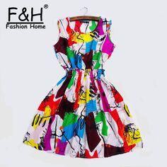 e09015d173c Fashion Brand Women New Desigual Apricot Sleeveless Round Neck Florals Print  Pleated Dress 2015 Saias Femininas Summer Clothing
