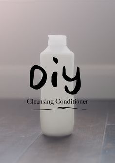 Make your own cleansing conditioner that works AWESOME for cheap!