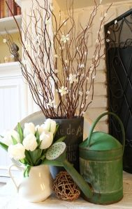 Faux flowering branches a tutorial http://mysoulfulhome.com