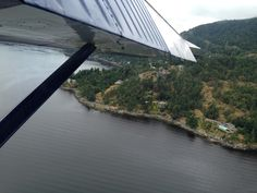 Landing in Salsprings island BC well... Not really.... Is right on the sea.... Lovely peaceful part of the world...Canada way west!