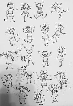 Doodle sketch, doodle drawings, easy drawings, doodle art, drawing lessons for kids Doodle Sketch, Doodle Drawings, Doodle Art, Stick Men Drawings, Easy Drawings, Drawing Lessons For Kids, Art Lessons, Painting For Kids, Art For Kids