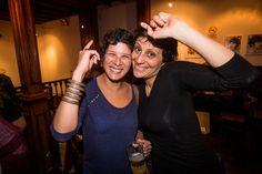 Gisella Ramirez y Grabiela Yepes #festivalcinedelima