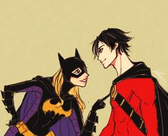 Stephanie Brown and Tim Drake. Batgirl and Red Robin. UGH, they give me feels.