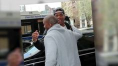 VIDEO: Jay-Z and Kanye West Hug it Out in New York - http://articleinquiry.com/entertainment/video-jay-z-and-kanye-west-hug-it-out-in-new-york/