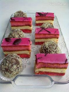 Punčové rezy á la Lindy (fotorecept) Czech Recipes, Ethnic Recipes, 20 Min, Vanilla Cake, Tiramisu, Diy And Crafts, Food And Drink, Punk, Sweets