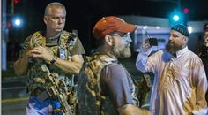 Heavily-armed white men patrol Ferguson, 'ready to confront authorities to defend US Constitution' — RT USA