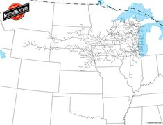 Www American Rails Com Images Chicago And North Western Railroad Pictures Maps
