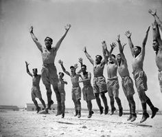Māori Battalion performing a haka in Maadi, Egypt, World War II. My two worlds--Polynesia & the Middle East--all in the same pic. Love this collection. Still searching for the picture of them in front of the Pyramids. Alexander Turnbull Library, Wellington, New Zealand